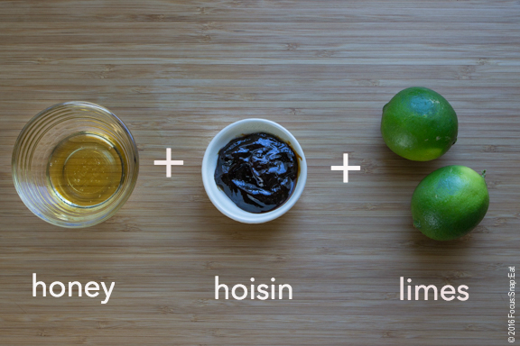 Simple glaze gets an Asian twist with hoisin