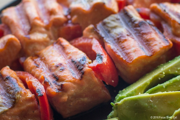 These Asian-inspired salmon is a healthy alternative for the holidays.
