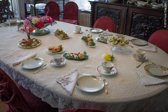 We walked into the dining room to find this spread all for us!