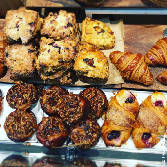 The danger with Firebrand is you get tempted by their pastry selection.