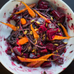 My Trick for a Treat: Roasted Beet and Carrot Pasta