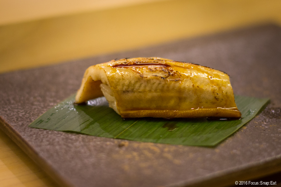"""Anago"" or salt water eel from Nagasaki"