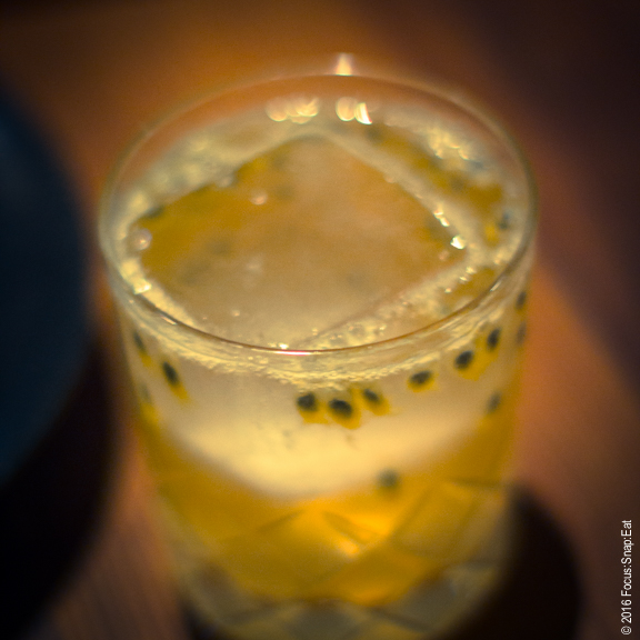 Passionfruit ume chu-hai cocktail ($11)
