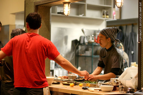 The owners brought in a consultant from Japan in these early weeks to help perfect the ramen soup
