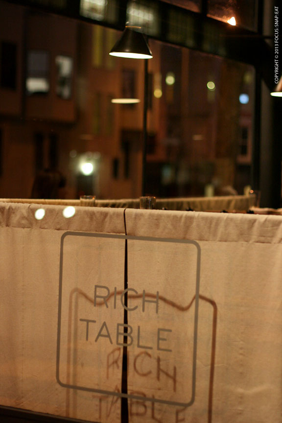 Rich Table took over the old Paul K spot in Hayes Valley