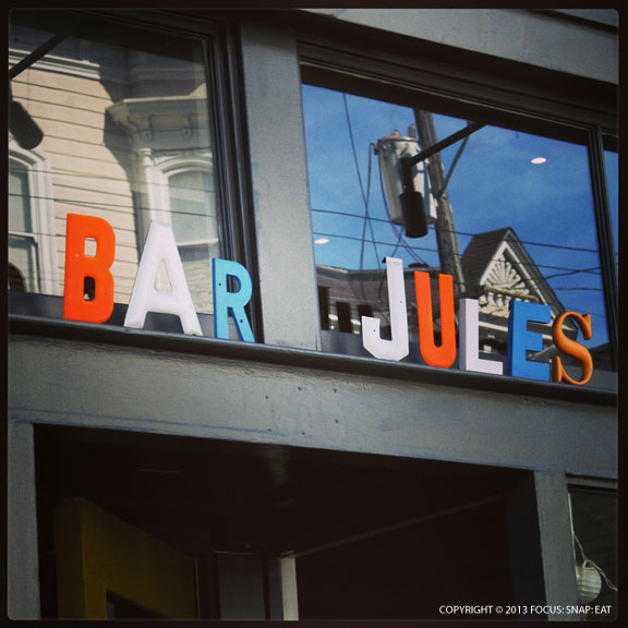 Bar Jules has a fun decor and still draws the crowds after five years