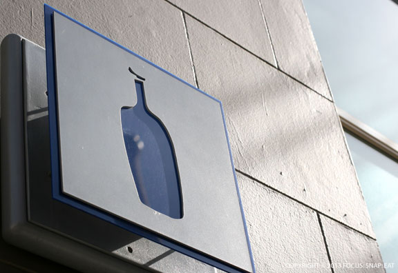 Some places have come and gone at Mint Plaza, but Blue Bottle looks like it'll be there for awhile