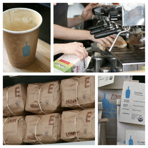 Part of Blue Bottle's allure is its packaging and design
