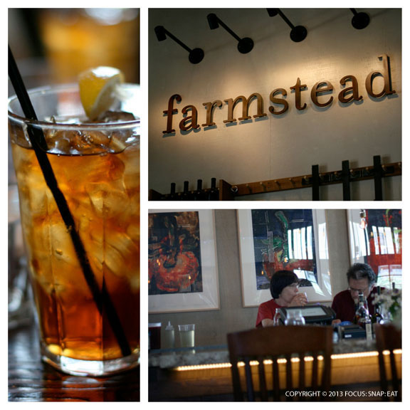 Farmstead's dining room is huge but provides the coziness you'd expect from a farmhouse