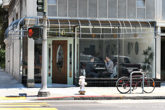 20th Century Cafe takes up the corner in Hayes Valley that once was a wash and dry. But it's in good company, across the street from the popular Rich Table restaurant.