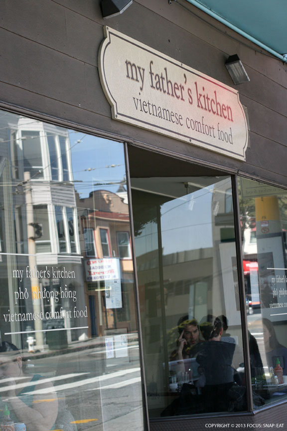 My Father's Kitchen is a popular option on Saturdays on a quiet section of Divisadero