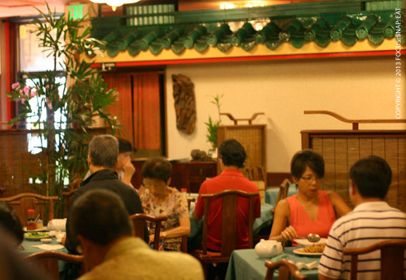 Kirin's main dining room is like sitting in a Chinese garden, which now serves dim sum.