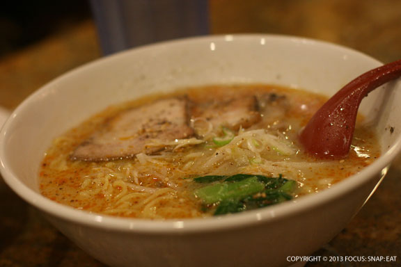 Shio ramen (salt broth)