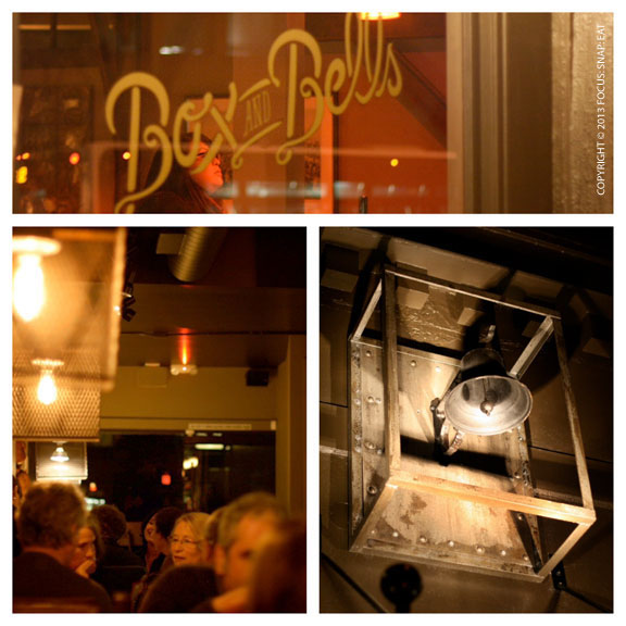 The eclectic decor of Box and Bells