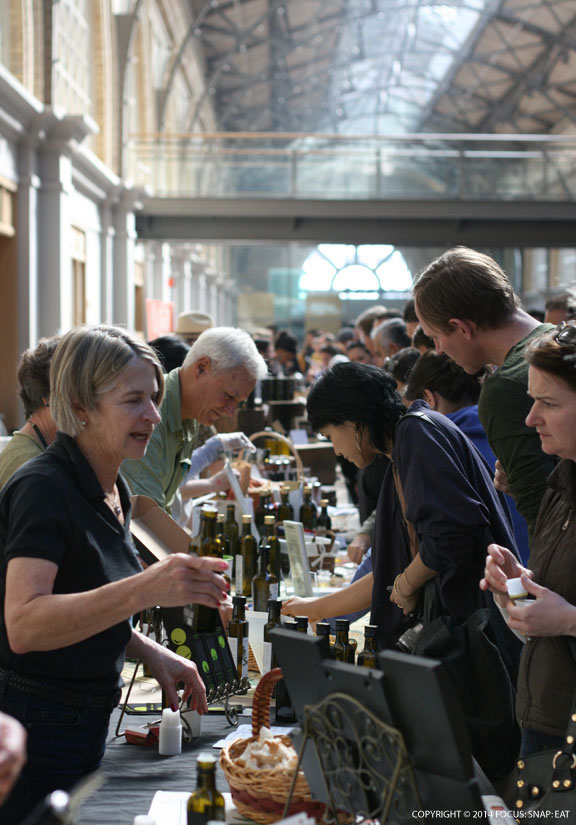 The Good Food Awards expanded to the second level of the Ferry Building this year.