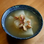 Making Dong Gua or Winter Melon Soup Recipe