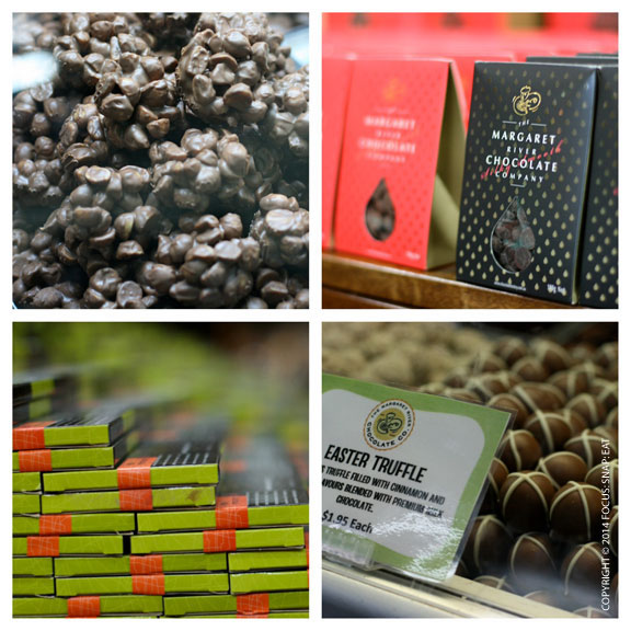 A stop at the Margaret River Chocolate Co. is always a sure winner for a variety of chocolate products.