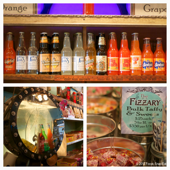 The Fizzary soda store was a colorful spot with a lot of character and sodas.