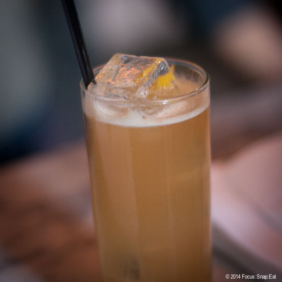 The Pisces, one of the specialty cocktails named after an astrological sign. $12