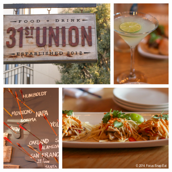 31st Union offers small plates that highlight comfort food, such as the duck confit tacos.