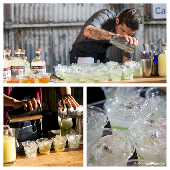 I enjoyed the cocktails being poured by the guys behind Rye Bar (calling themselves Rye on the Road). I went back several times to try all three specialty drinks offered.