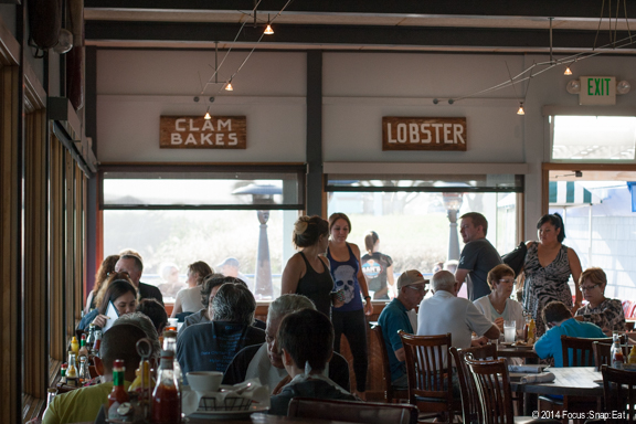 Sam's Chowder House in Half Moon Bay is often packed with diners