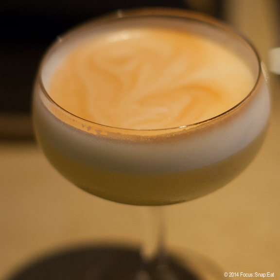 If you like pisco sours, you should try Fog City's interpretation with its Fog City Sour ($11) made with blanco tequila, chartreuse, ginger, lemon, egg white, and angostura bitters.