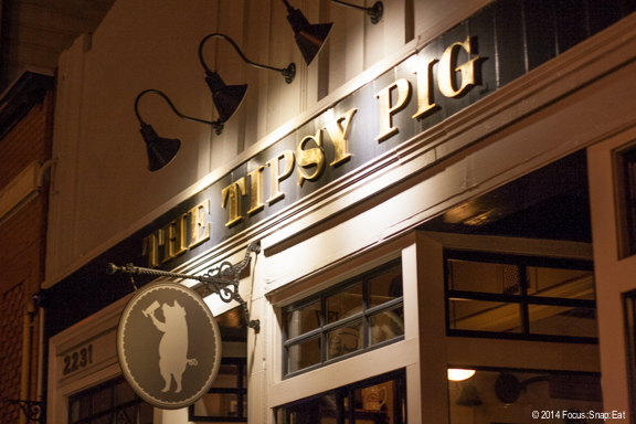 The Tipsy Pig is a lively spot for drinks in the Marina