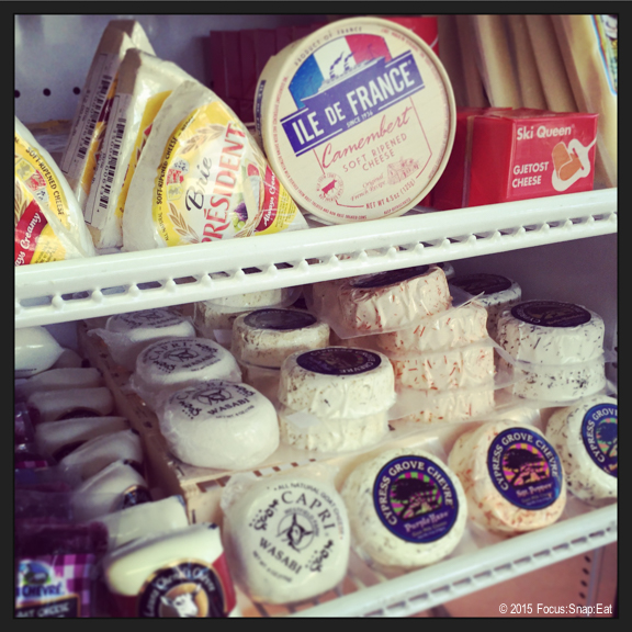 Oh yeah, they sell cheese too!