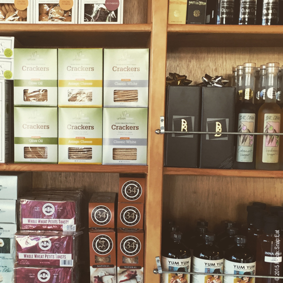 Some of the specialty items sold at the store include many local brands