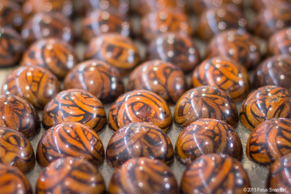 Muscato caramel truffles from William Dean Chocolates