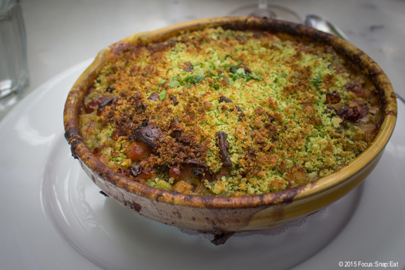I had the cassoulet ($26) for my main lunch dish