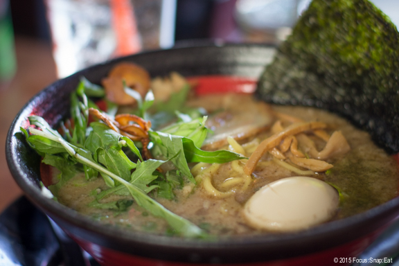 "Bowl of ""Beyond Ramen"" $12"