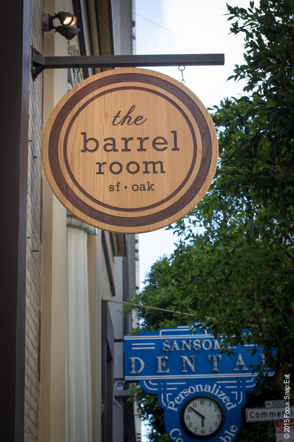 The Barrel Room's new FiDi location