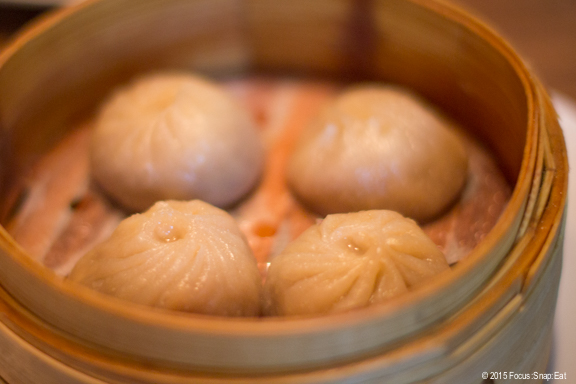 Soup dumplings with sweet onion and gruyere at ChoLon