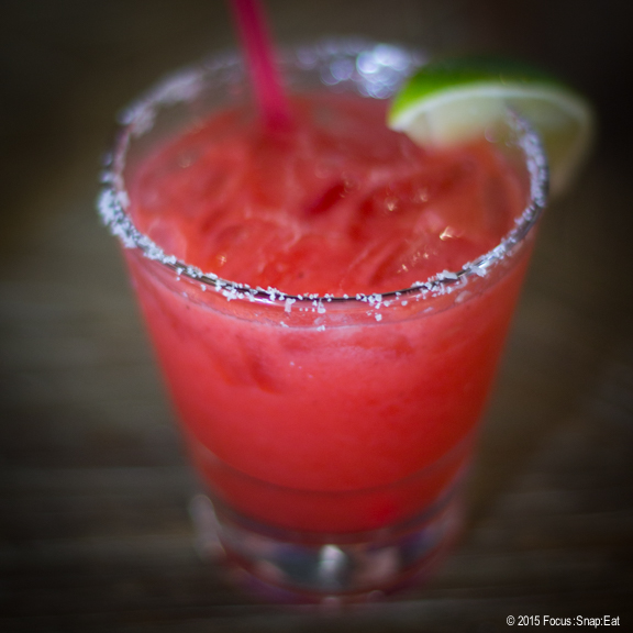 Strawberry margarita from Cosecha kicked off our dining spree at B-Dama.