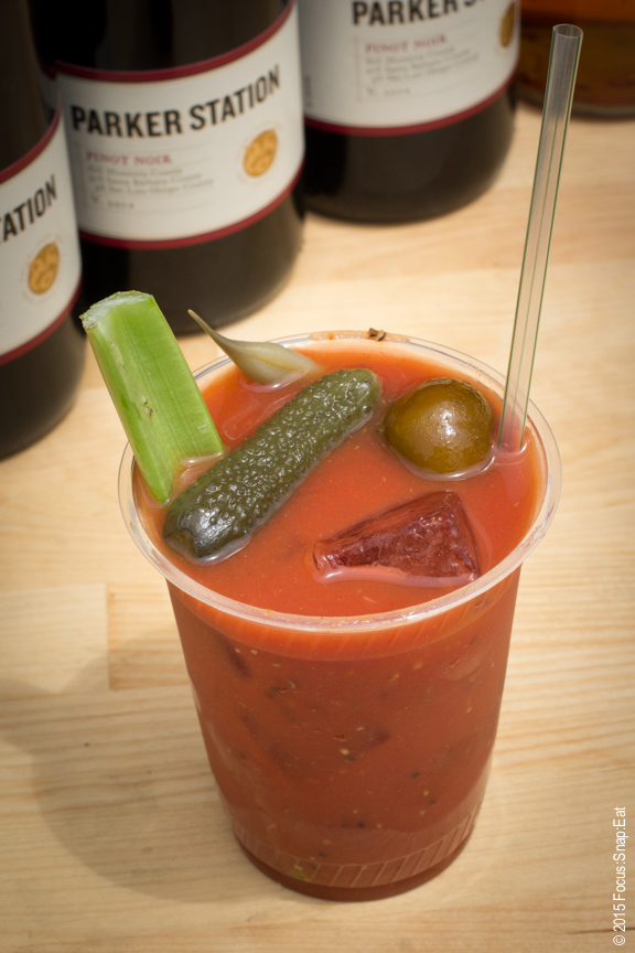 I had to get a Bloody Mary and Rye's version was nicely mixed and definitely on the spicy side.