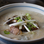 Pork Belly Jook aka Rice Congee Recipe + Video