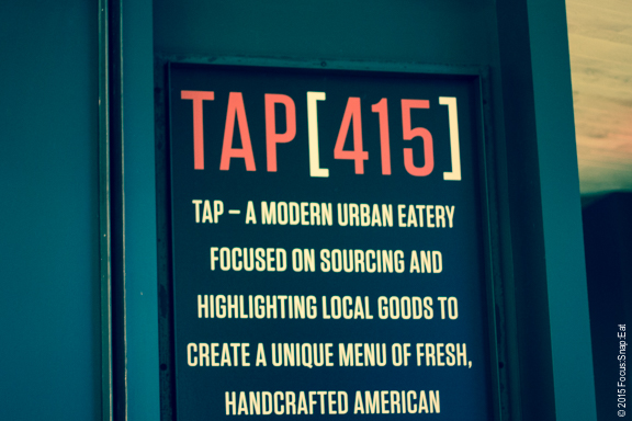 Tap 415 is from the people behind 25 Lusk