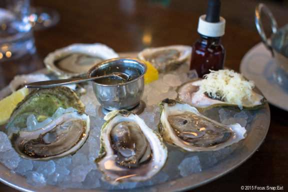 Oysters at Notkins