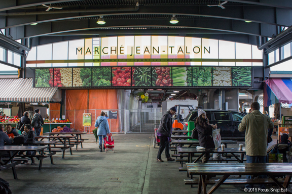 Marche Jean-Talon is one of the largest public markets with open-air stands.
