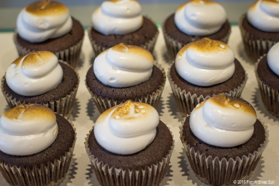 Popular S'mores cupcakes