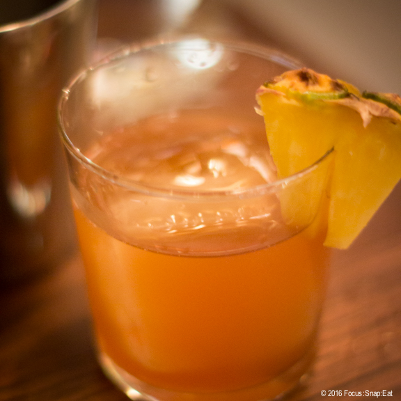 B.T. Old Fashion ($11) cocktail