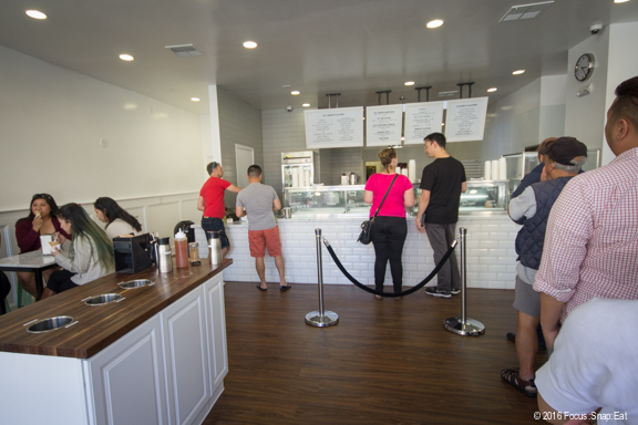 The spacious location of Cookiebar Creamery's new Oakland store