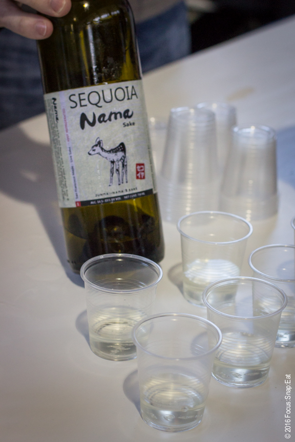 Sequoia Sake is made locally in San Francisco. It's Nama sake is non-pasteurize, allowing it to develop more flavor.