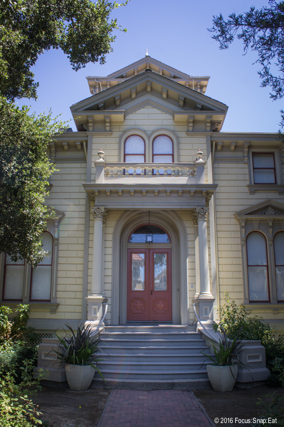 The historic Pardee Home in Oakland.