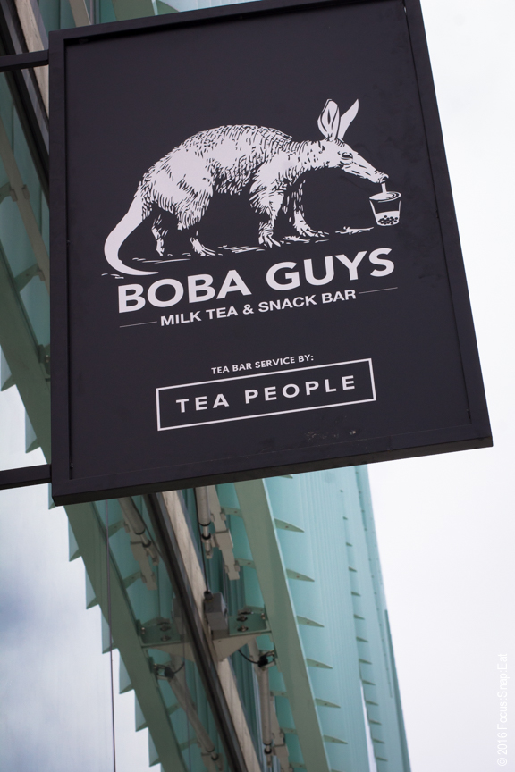 The newest location for Boba Guys is found at Hayes Valley in a shiny new building.