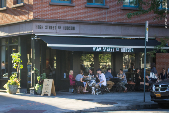 High Street on Hudson looks like a cafe from the street.