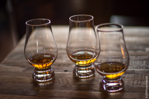 """Identity Crisis"" is a flight that provides a taste of bourbon, rye and scotch."