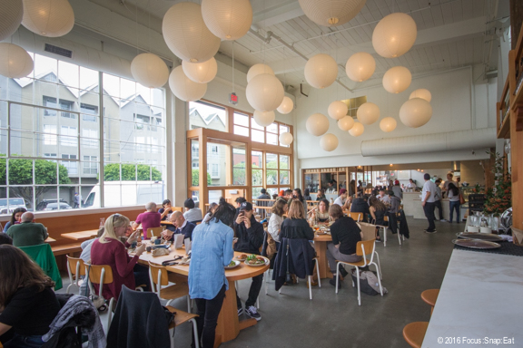 The open space at Tartine Manufactory.